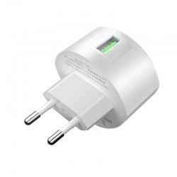 HOCO Wall Charger C68A 1xUSB 3.0A 18W White
