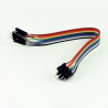 Dupont Jumper Cable 30cm M-M (10 pieces)