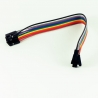 Dupont Jumper Cable 30cm F-F (10 pieces)