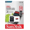 Sandisk Ultra microSDHC UHS-I A1 128GB Class 10 (with adapter)