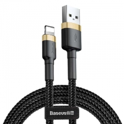 baseus-cafule-braided-lightning-cable-gold-3m-gr
