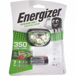 Headlight Energizer Vision HD+ 3 Led 350 Lumens