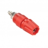 Banana Plug Contact (Panel, Insulated) Red