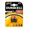 Duracell Battery A23 MN21 Alkaline 12V (2pcs)