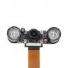ZeroCam Fisheye NightVision - for PiZero & Pi 3