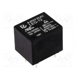 Relay electromagnetic SPDT 12V 10A