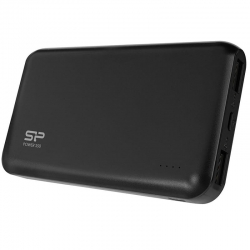 SILICON POWER Power Bank S100 10000mAh, 2x USB, Black