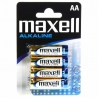Maxell Αλκαλικές Μπαταρίες LR6 size AA 1.5V (4τμχ)