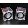 Mini Amplifier Speaker Kit 2-Ch DIY Transparent 3W