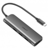 UGREEN 5in1 USB-C to HDMI 4K Adapter, 3x USB 3.0, Type-C