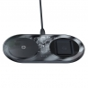Baseus Simple 2in1 wireless charger 18W transparent